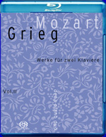 MOZART/GRIEG vol II Blu-Ray box