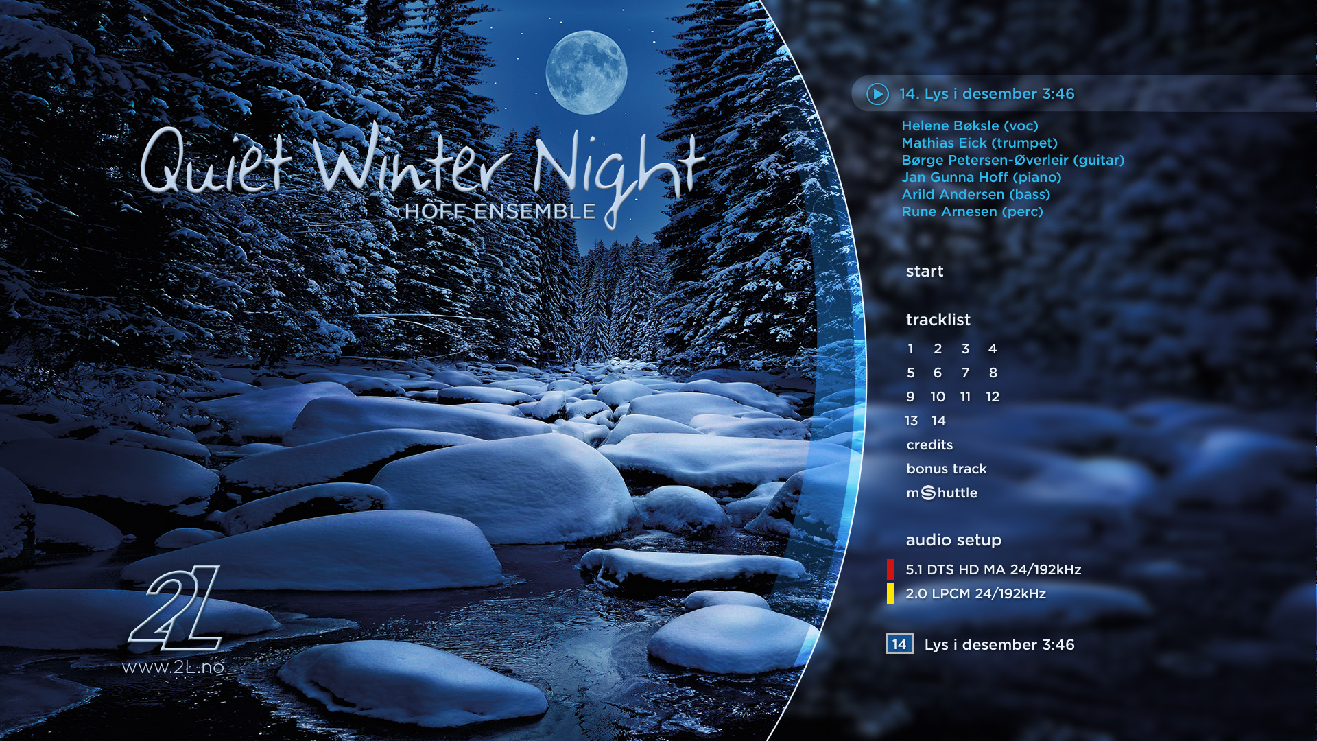Album Quiet Winter Night An Acoustic Jazz Project In 5 1