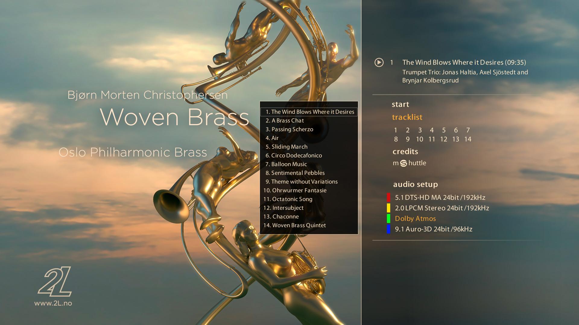 Album: Bjørn Morten Christophersen: Woven Brass (2L-143-SABD