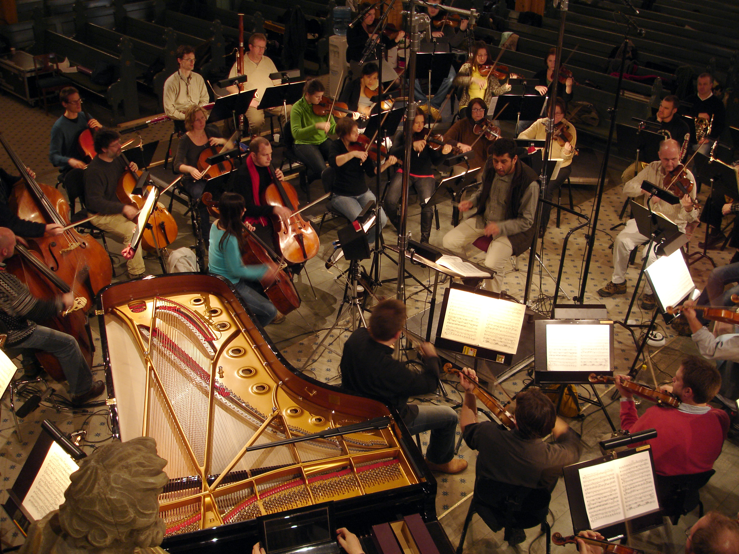 Image result for piano in orchestra